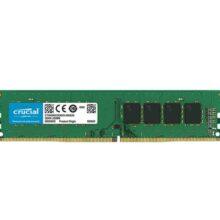 رم کامپیوتر DDR4  کروشیال تک کاناله۲۴۰۰ مگاهرتز باظرفیت ۴ گیگابایت