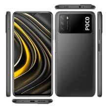 گوشی موبایل شیائومی مدل POCO M3 M2010J19CG دو سیم کارت ظرفیت ۱۲۸ گیگابایت رم ۴
