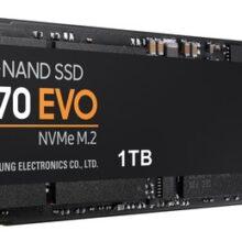 هارد اس اس دی اینترنال سامسونگ مدل ۹۷۰ EVO ظرفیت ۱ ترابایت