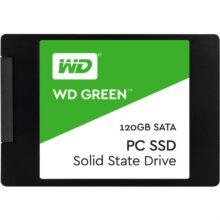 اس اس دی اینترنال وسترن دیجیتال مدل Green PC WDS120G2G0A ظرفیت ۱۲۰ گیگابایت