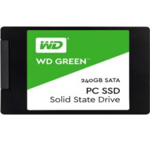 اس اس دی وسترن دیجیتال مدل GREEN WDS240G1G0A ظرفیت ۲۴۰ گیگابایت