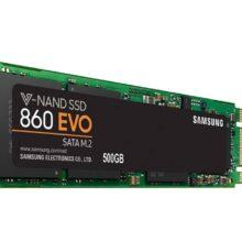 اس اس دی اینترنال سامسونگ مدل Evo 860 m.2 ظرفیت ۵۰۰ گیگابایت