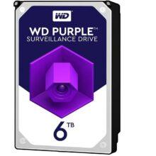 هارددیسک اینترنال وسترن دیجیتال مدل Purple WD60PURZ ظرفیت ۶ ترابایت