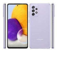 گوشی موبایل سامسونگ مدل A72 SM-A725F/DS دو سیمکارت ظرفیت ۲۵۶ گیگابایت و رم ۸ گیگابایت