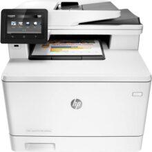 پرینتر چندکاره لیزری اچ پی مدل HP Color LaserJet Pro MFP M477fnw Printer
